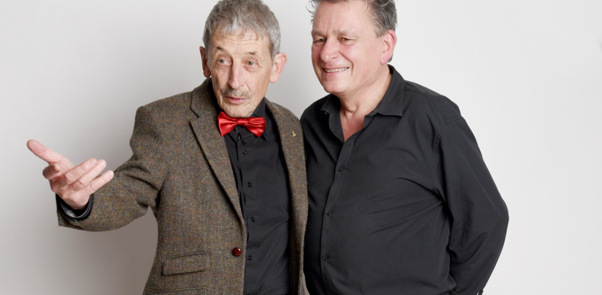 DeinAdieu-Beirat Alois Birbaumer und Autor Martin Schuppli (Foto: Daniela Friedli)