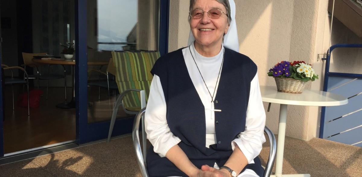 Baldegger-Schwester Jolenda Elsener. (Foto: Martin Schuppli)