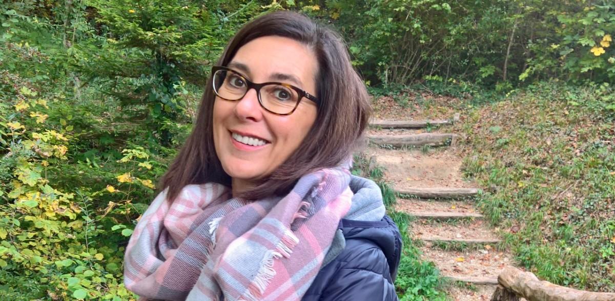 Medium Petra Vocat verblüfft DeinAdieu-Autor Martin Schuppli mit ihrem Wissen und ihrem Können. (Foto: zVg)