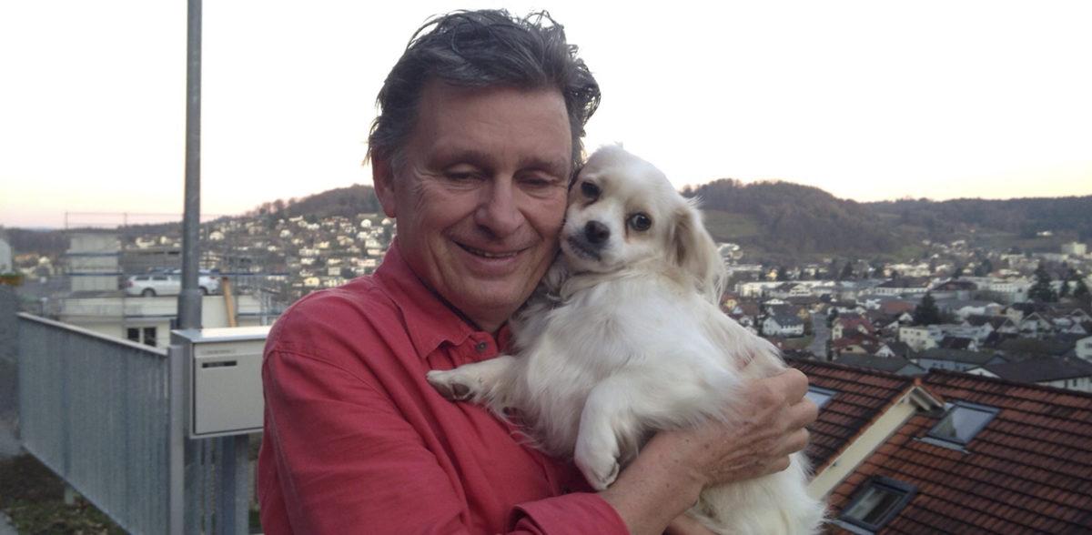 Martin Schuppli und Bilbo